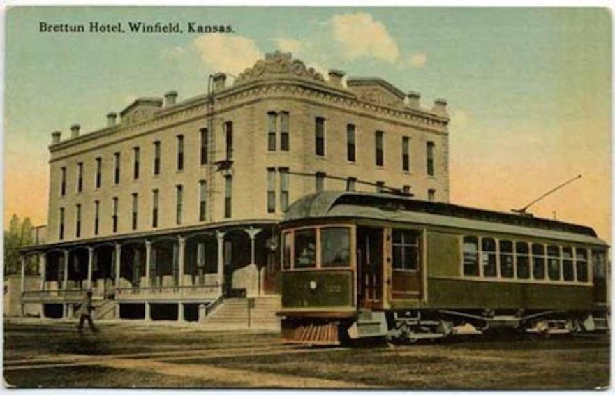 Brettun Hotel in Winfield, Kansas