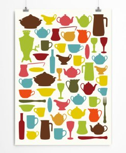 Tableware Art Print