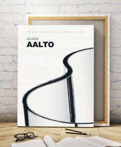 Aalto vase canvas print