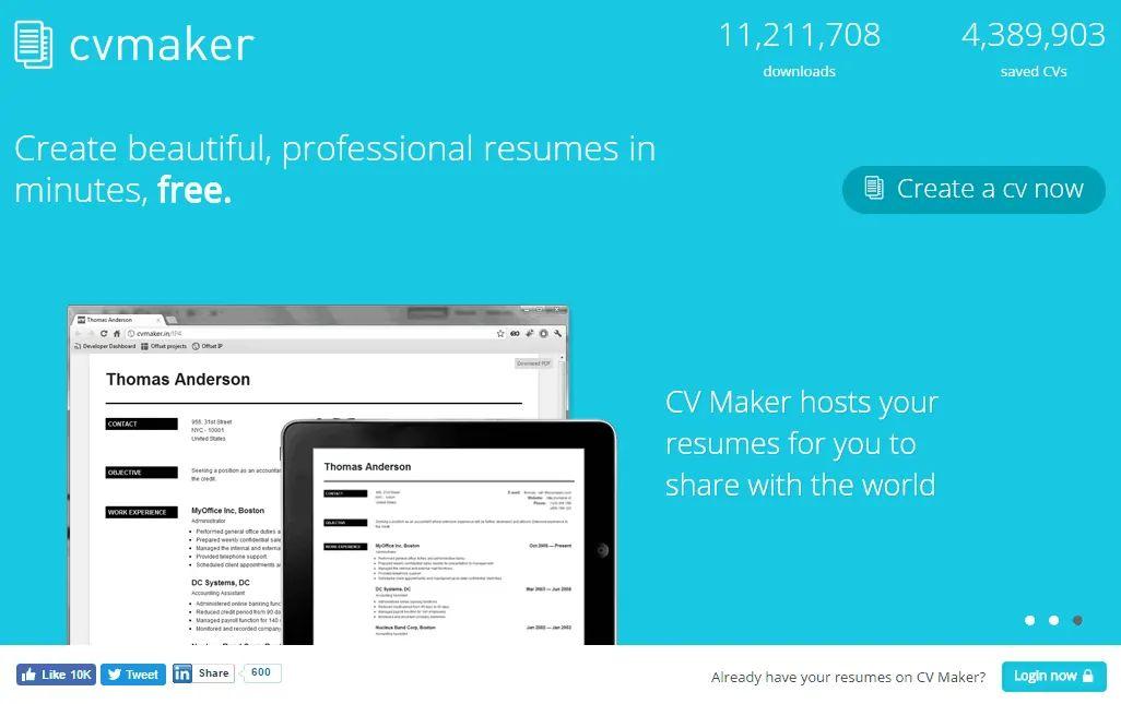 resume maker free reddit
