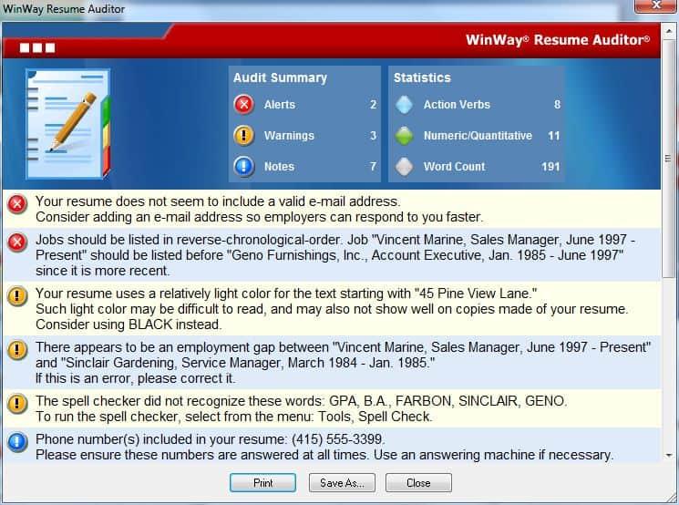 Web Based Resume Builder Software | Application Letter Civil ...