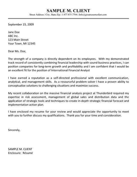 credit analyst cover letter no experience