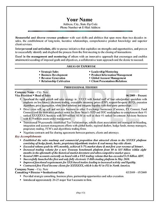 areas of expertise on resume examples