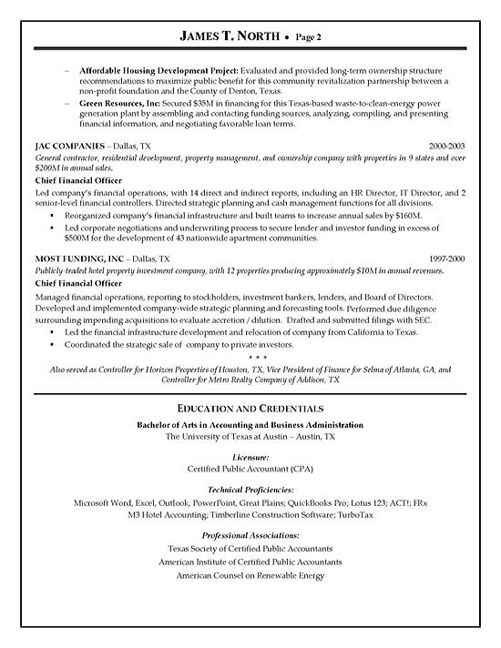 Financial Consultant Resume Example - Pr Consultant Sample Resume