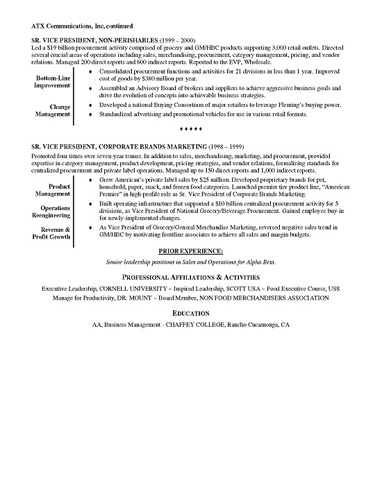 resume objective writer