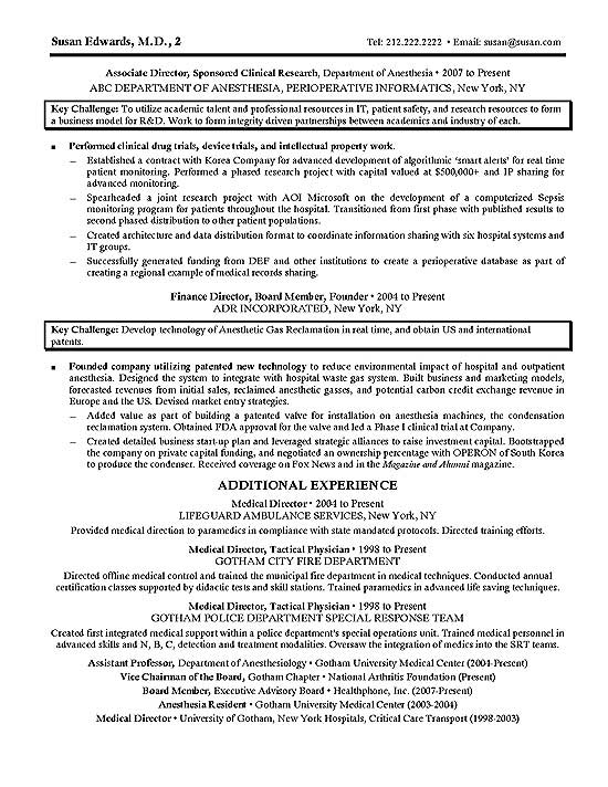 Clinical Research Resume Example - image researcher sample resume