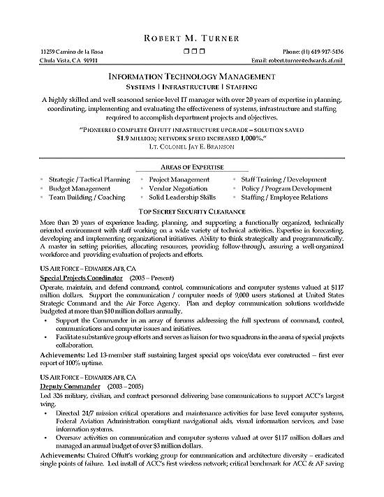 Infrastructure Manager Resume Example - network engineer job description