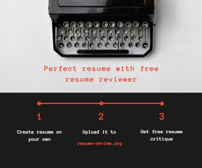 Writing a perfect resume with free resume 24/7 reviewer\u0027s assistance