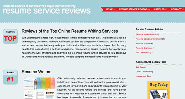 Resume Review Services Resume Service Reviews - Resume-service-review.com
