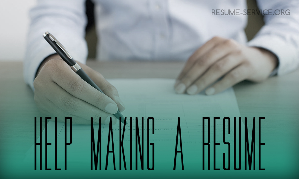 Help Making A Resume Online Resume Service For You resume-serviceorg