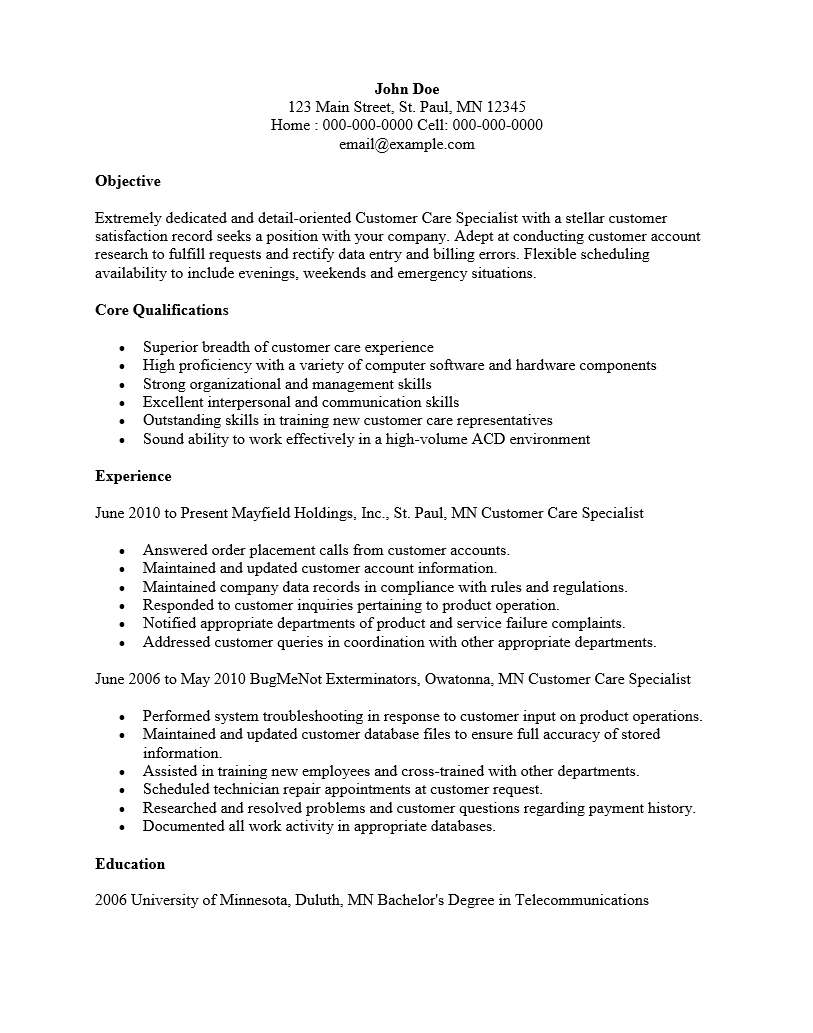 quality improvement specialist sample resume oil field engineer