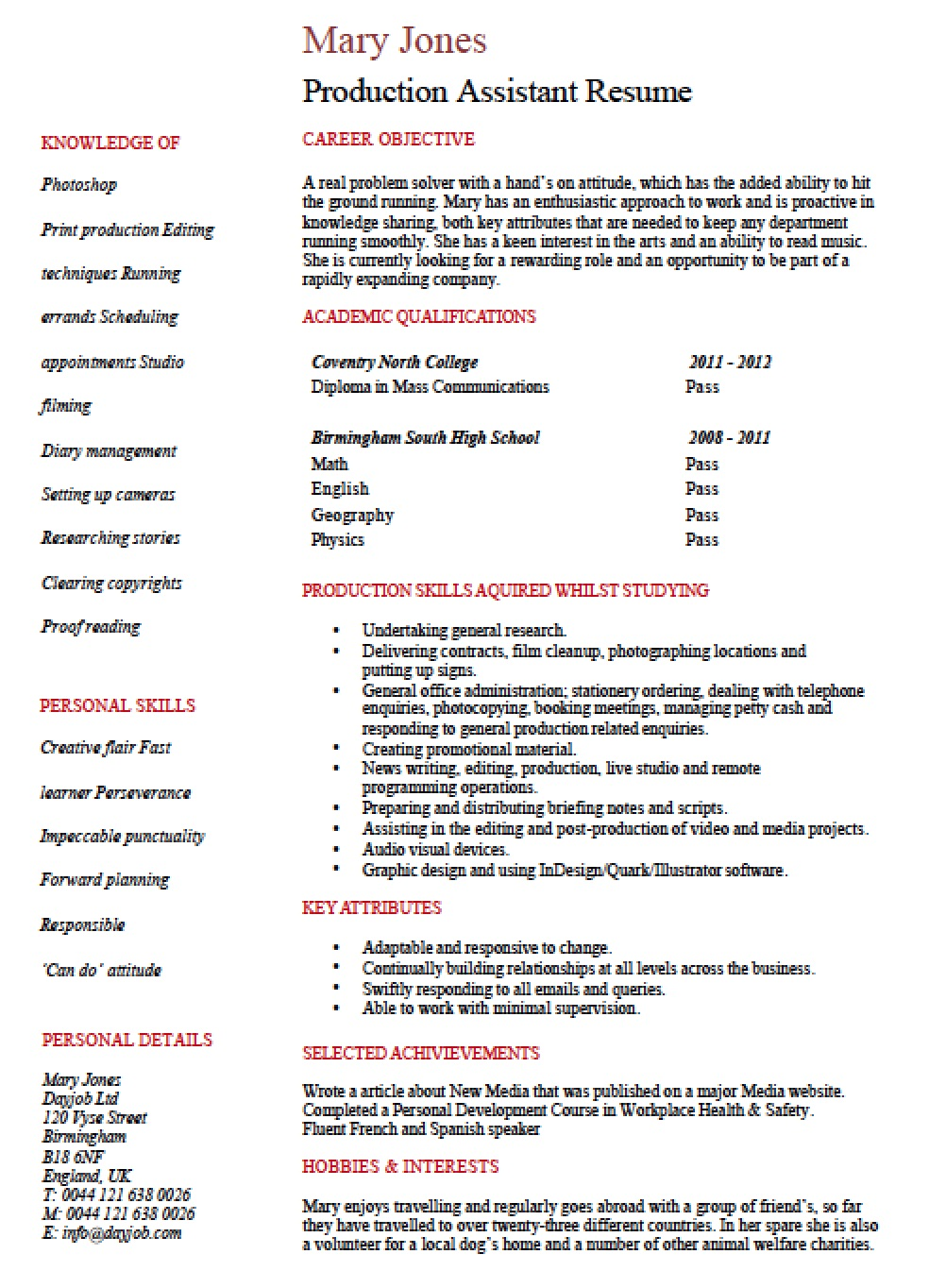 Resume Template Rtf Easy Online Resume Builder Create Or Upload Your Rsum  Free Entry Level Production