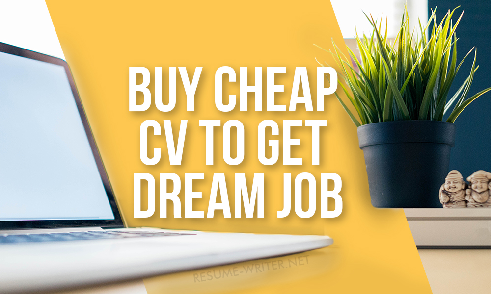 Buy Cheap CV Online And Get Work You Dream About resume-writernet