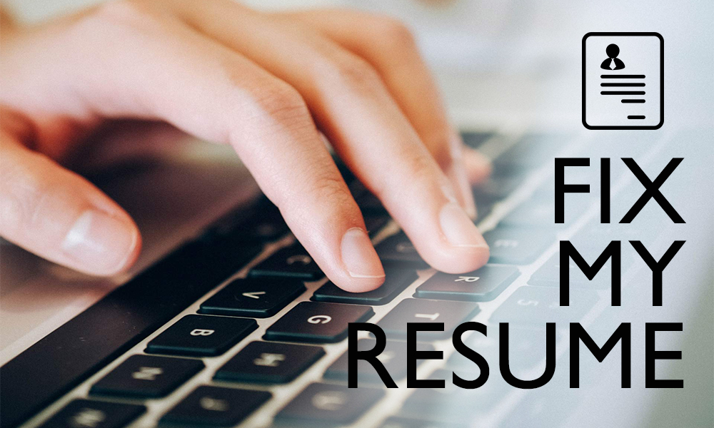 Fix My Resume Guide For Ideal Image Creation resume-writernet