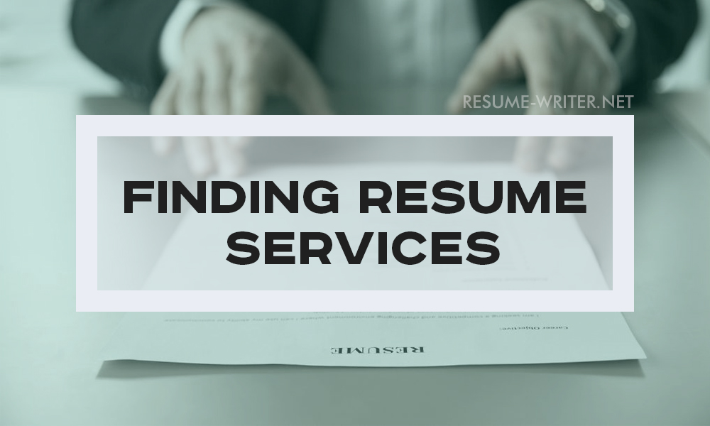 In Search Of The Best Resumes Writing Service resume-writernet