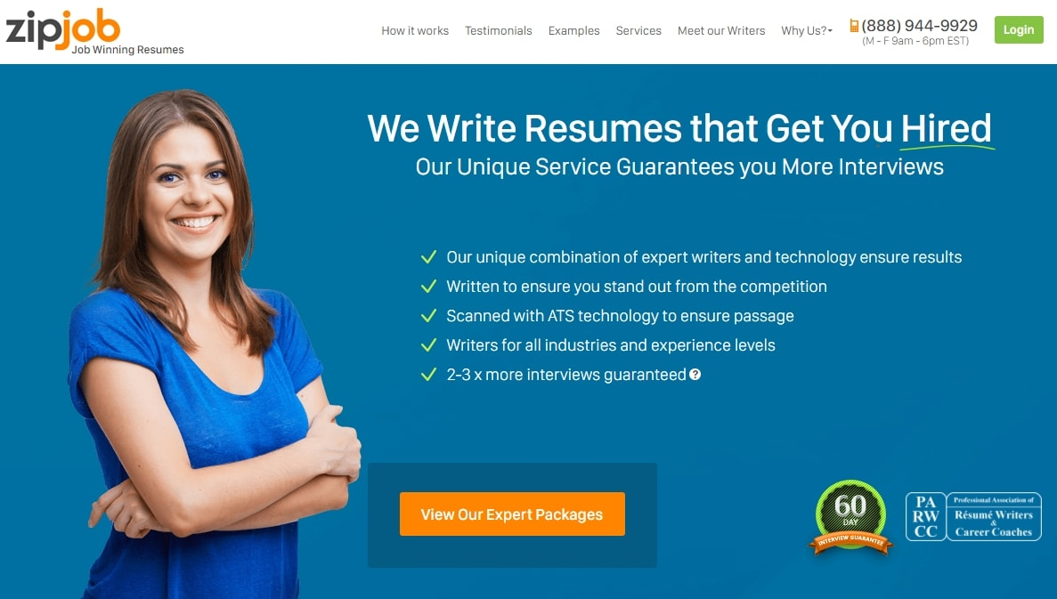 resume writing services jobs