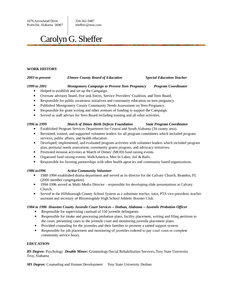 download executive resume templates