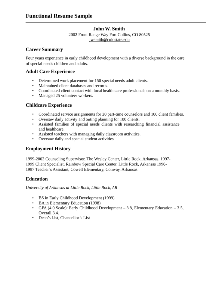 youth resume objective examples