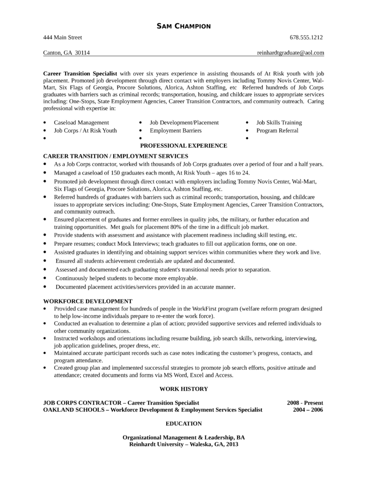 youth development specialist cover letter samples  u0026 b