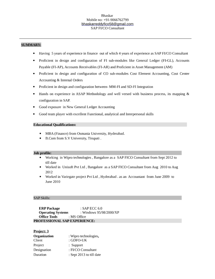 Resume Templates Template For Resumes Professional General Ledger Accountant Resume Template