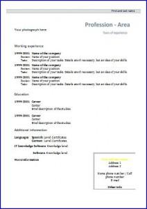 german tabular cv template best resumes curiculum vitae and