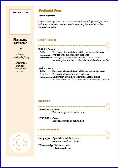 Resume Examples Cv Templates Functional 3 Resume Templates