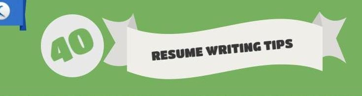 40 Resume Writing Tips you can read in 2 minutes! - Naukri