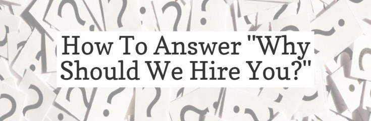 Why Should We Hire You  Interview Question - Naukri - why should i hire you