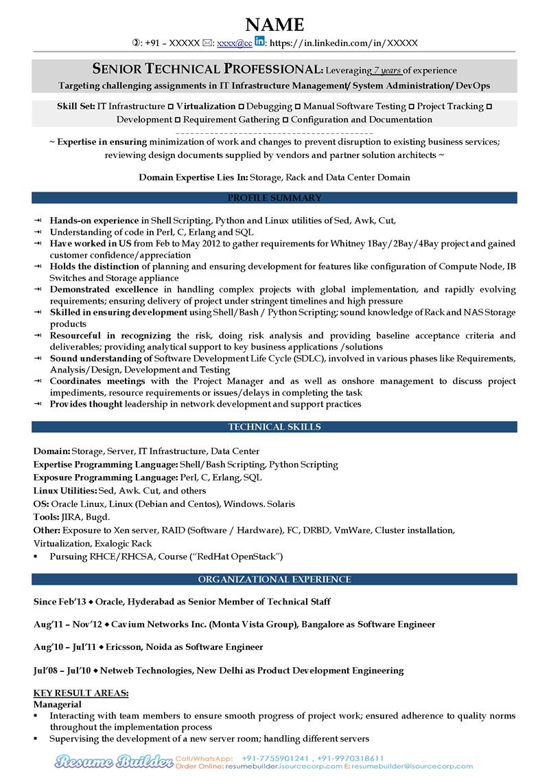 resume text document