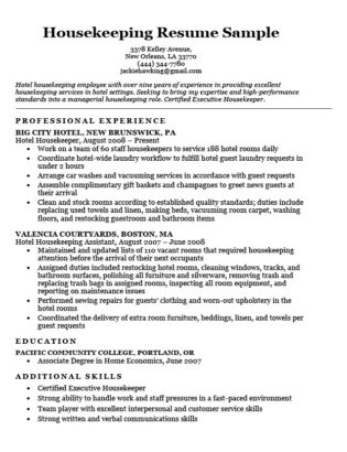 Nanny Resume Sample  Writing Tips Resume Companion