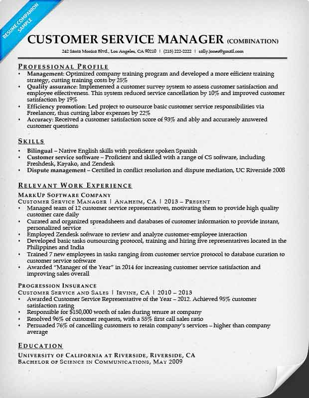 Best Combination Style Resume Sample Pictures \u003e\u003e Combination Style - combination style resume