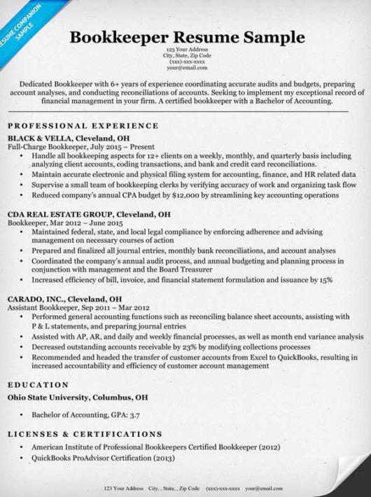 sample resume office manager bookkeeper samples in word format 2 - office manager bookkeeper resume