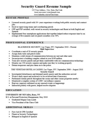 Lifeguard Resume Sample  Writing Tips Resume Companion - lifeguard resume example