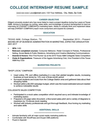 Entry-Level Accounting Resume Sample  4 Writing Tips RC - student resumes