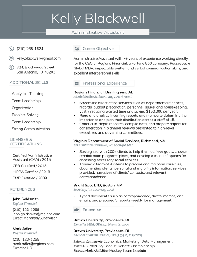 how to name resumes