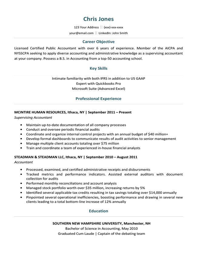 free standout administrative resume downloadable templates