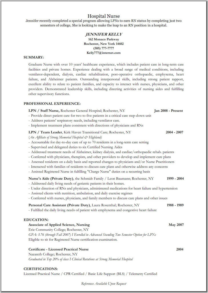 Emergency Room Nurse Resume Templates Resume Templates - emergency room nurse sample resume