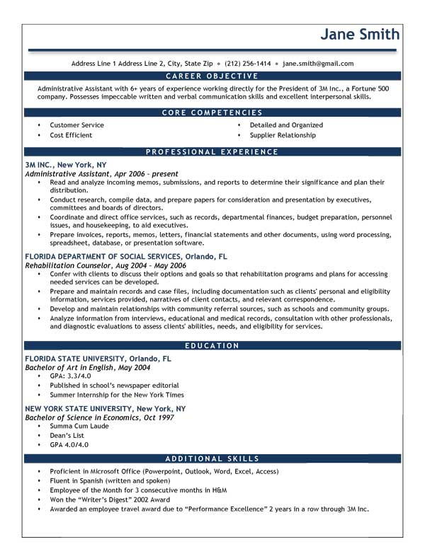 Help Writing Resume Objectives - Resume Objective Writing Guide