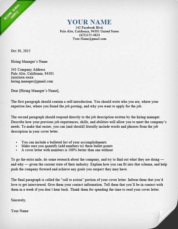 Cover Letter Designs - Beautiful  Battle Tested Resume Genius