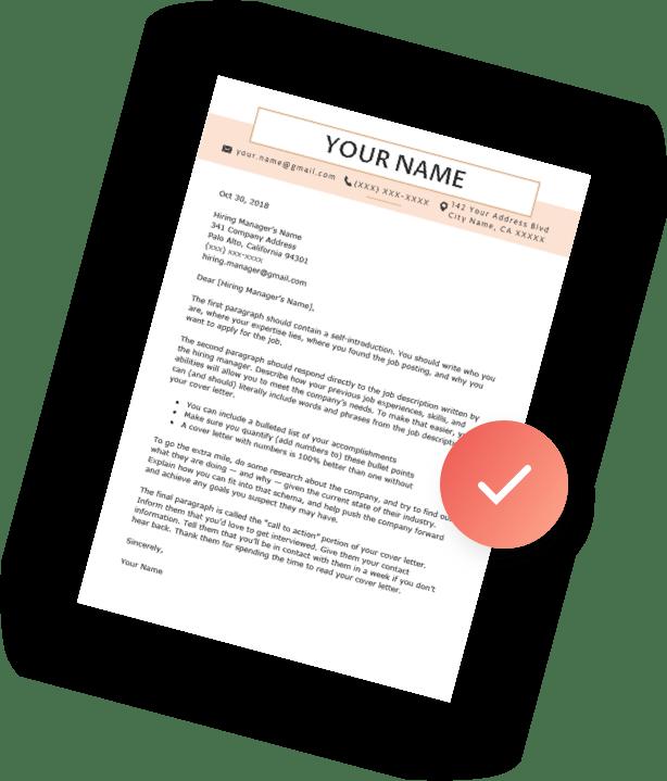 cover letter builder resume genius