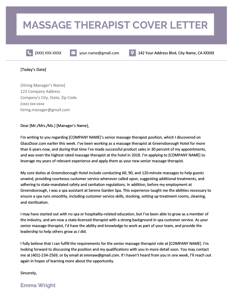 cover letter with picture template