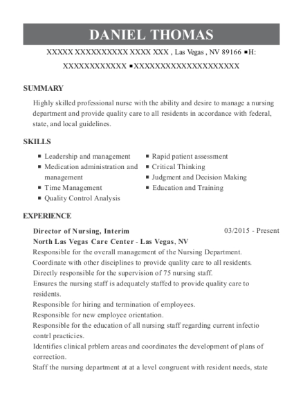 sample adon resume