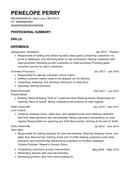 resume companies in st louis mo