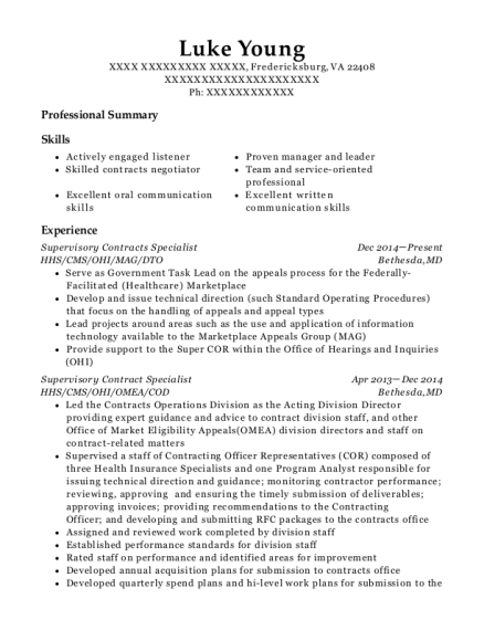 resume apple specialist