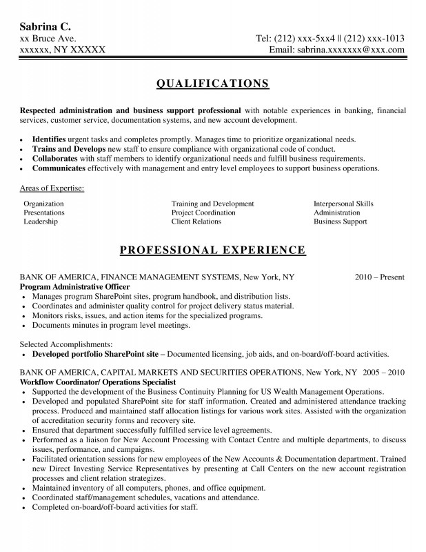 Samples New York Resume Writing Service ResumeNewYork