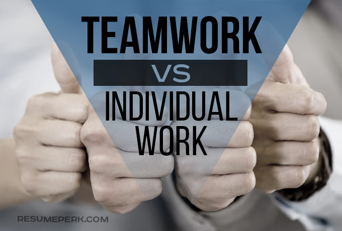 advantages of working in a team