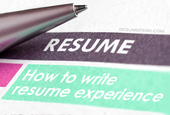 Resume ExperienceTips By The Best Resumes Writing Services