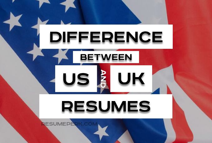 European vs US Resume Tips From CV Writing Service UK resumeperk - Tips For Resumes