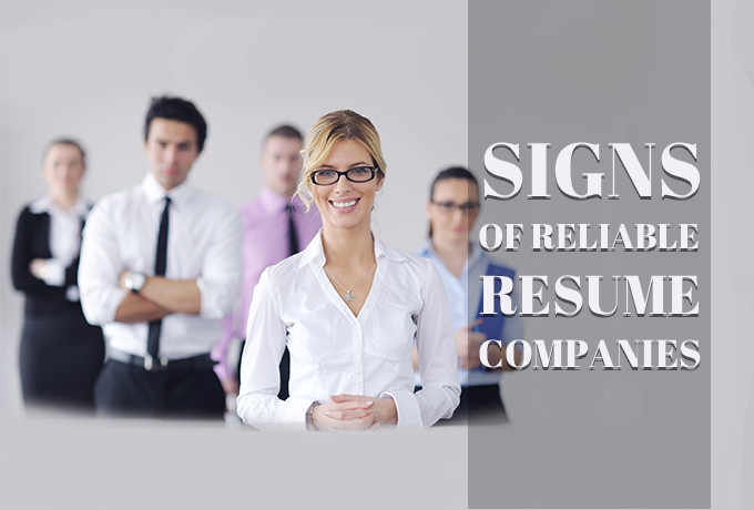 11 Signs Of Reliable Resume Writing Companies resumeperk