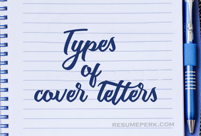 Types Of Cover Letters By Best Cover Letter Writing Service